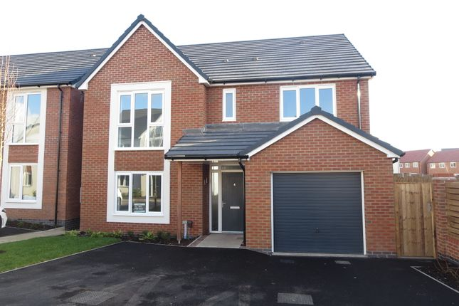 Thumbnail Detached house for sale in The Keyne, Trentham Manor, Stoke-On-Trent