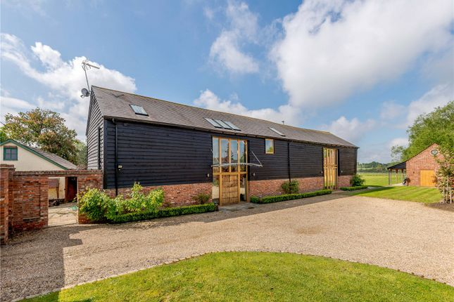Thumbnail Barn conversion for sale in Bracknell Road, Brock Hill, Warfield, Berkshire