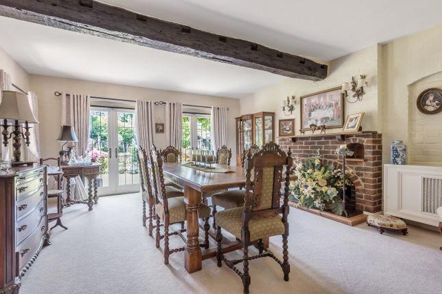 Dining Room of Common Hill, West Chiltington RH20