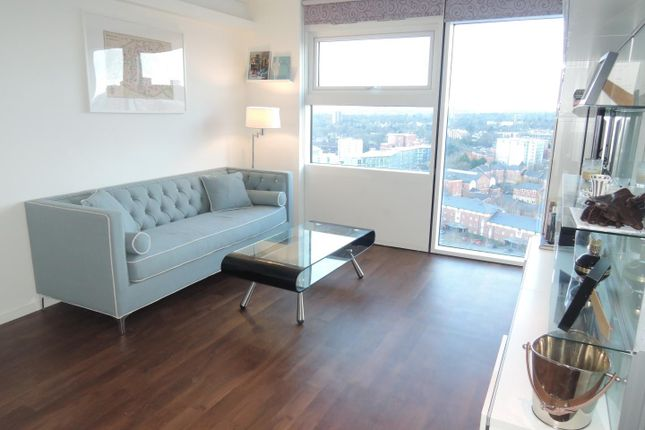 Thumbnail Flat to rent in The Cube West, 197 Wharfside Street, Birmingham