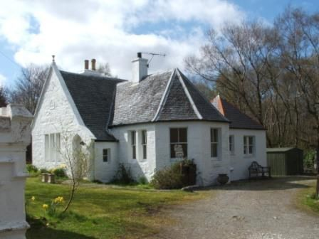 Thumbnail Detached house for sale in The Gatehouse, Skeabost, Isle Of Skye