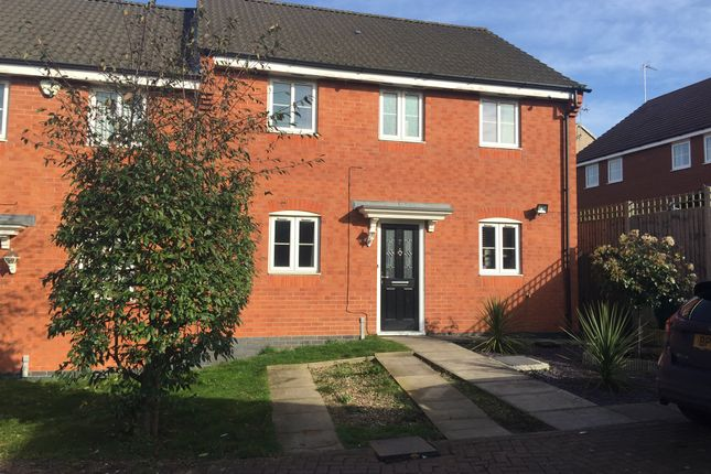 Thumbnail Semi-detached house for sale in Willmott Road, Rushden