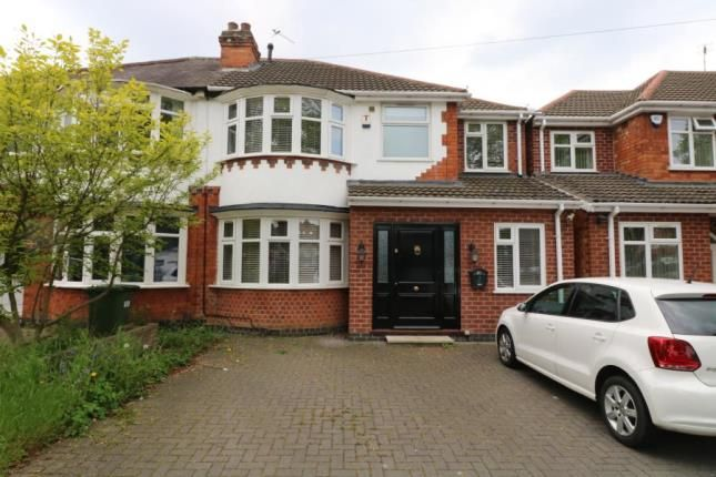 Thumbnail 4 bed semi-detached house for sale in Welford Road, Leicester