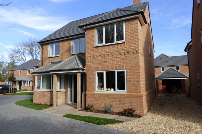 Thumbnail Detached house for sale in Moreteyne Meadows, Cook Close, Marston Moretaine, Beds