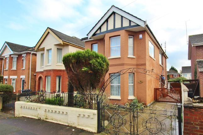 Thumbnail Detached house for sale in Brassey Road, Winton, Bournemouth