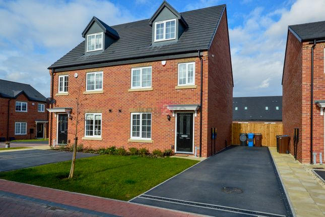 Thumbnail Semi-detached house for sale in Hewer Court, Halfway, Sheffield