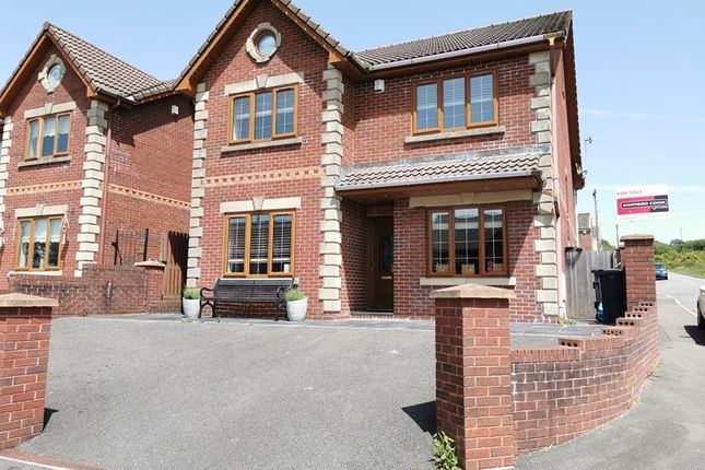 Thumbnail Detached house for sale in Amelia Close, Pant, Merthyr Tydfil