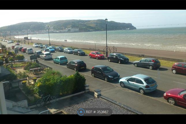 Thumbnail Flat to rent in Craig Y Don Parade, Llandudno
