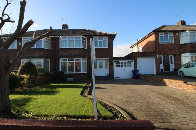 Thumbnail Semi-detached house to rent in Briardene Crescent, Newcastle Upon Tyne