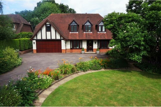 Thumbnail Detached house for sale in Salisbury Road, Romsey