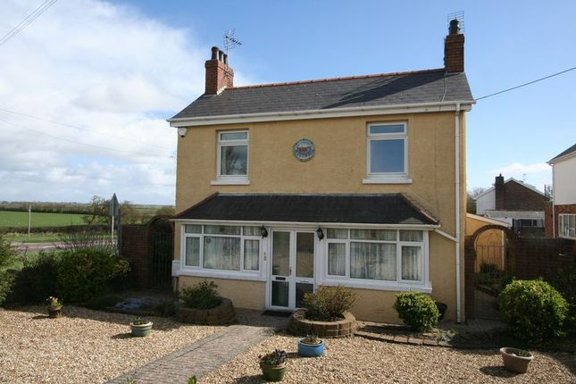 Thumbnail Detached house for sale in Gileston Road, Gileston, Barry