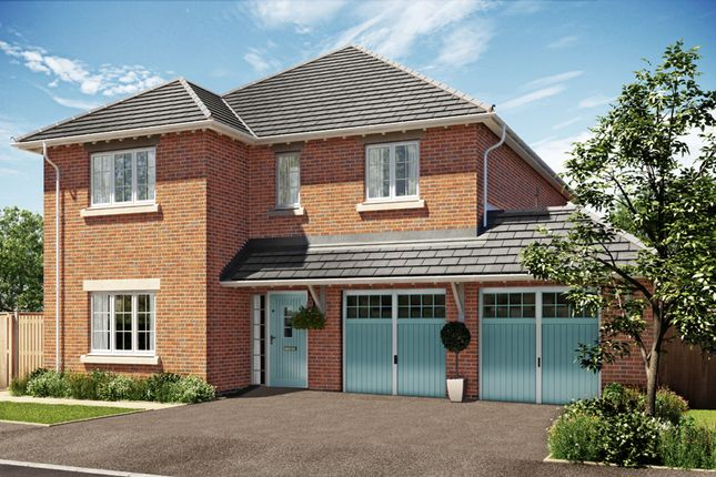 Thumbnail Detached house for sale in Heanor Road, Smalley, Ilkeston, Derbyshire