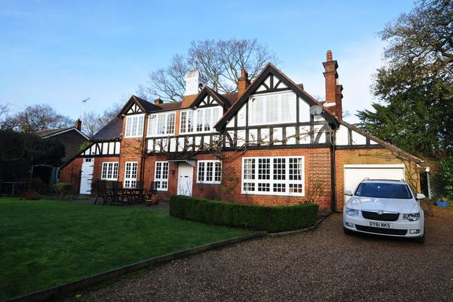 Thumbnail Detached house to rent in Chobham Road, Frimley, Camberley