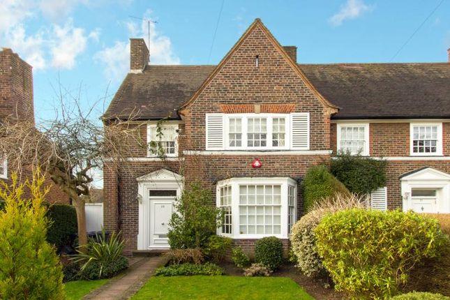 Thumbnail Semi-detached house for sale in Gurney Drive, Hampstead Garden Suburb, London