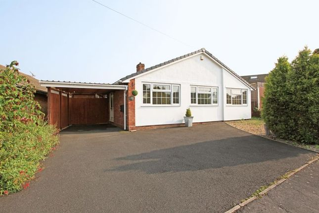 Thumbnail Detached bungalow for sale in Woodlands Close, Broseley Wood, Broseley