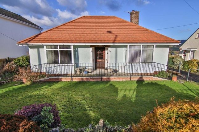 Thumbnail Detached bungalow for sale in Merthyr Road, Govilon, Abergavenny