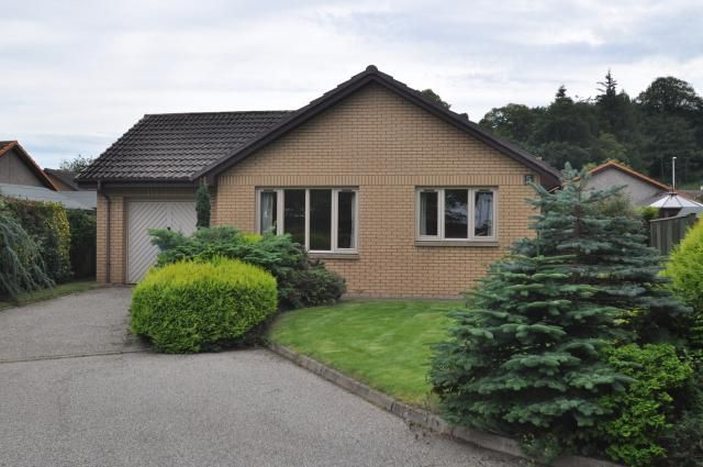 Thumbnail Bungalow for sale in 5 Moray Gardens, Forres