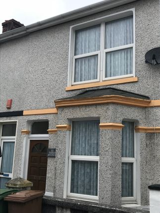 Thumbnail Terraced house to rent in Third Avenue, Plymouth