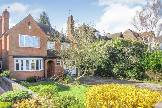 Thumbnail Detached house for sale in Warwick Road, Solihull