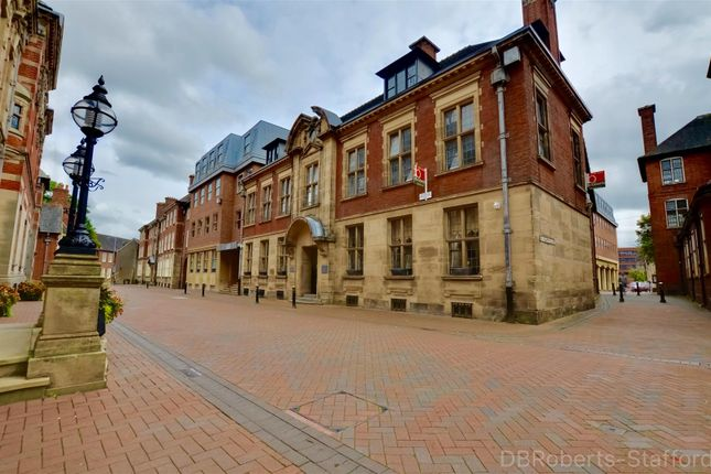 Thumbnail Flat for sale in Martin Street, Stafford