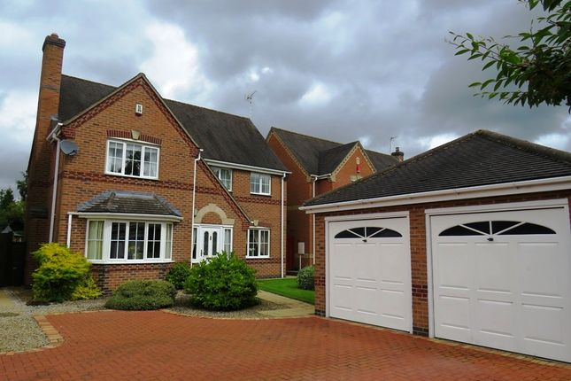 Thumbnail Detached house for sale in Lady Meadow Close, Denstone, Uttoxeter