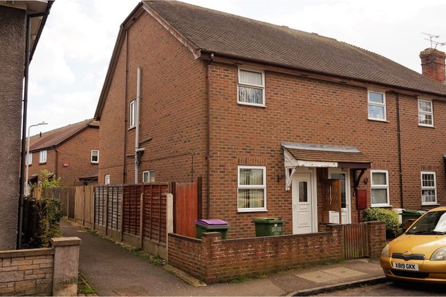 Thumbnail End terrace house for sale in New Street, Lydd