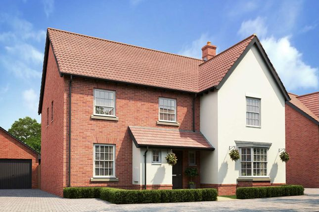 "Thumbnail Detached house for sale in ""Manning"" at Caistor Lane, Poringland, Norwich"