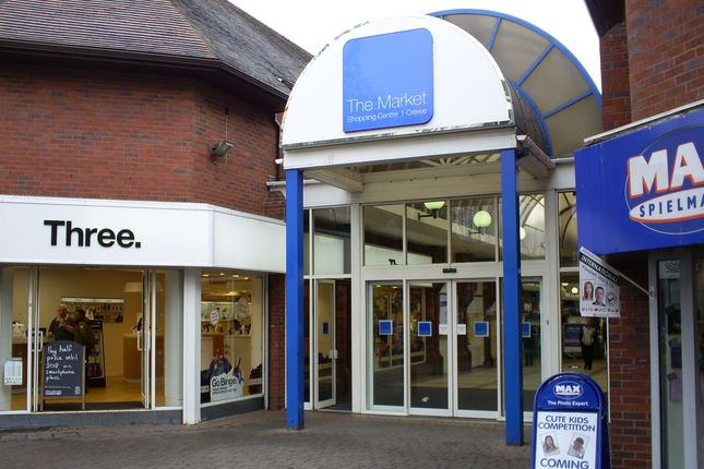 Retail premises to let in Market Centre Shopping Centre, Crewe