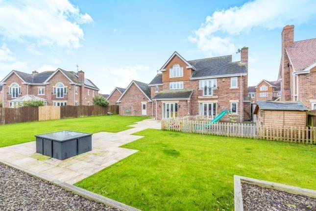 Garden of Hampstead Drive, Weston, Crewe, Cheshire CW2