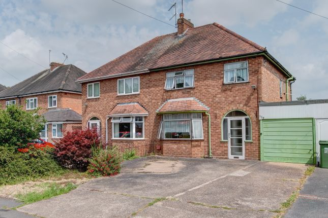 3 bed semi-detached house for sale in Studley Road, Greenlands, Redditch B98