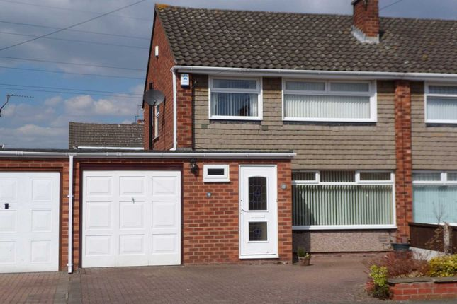 Thumbnail Semi-detached house to rent in Sutherland Drive, Bromborough, Wirral