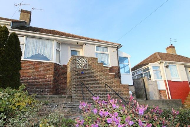 Thumbnail Semi-detached bungalow to rent in Conqueror Road, St. Leonards-On-Sea