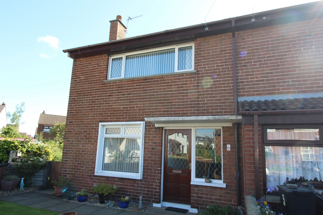 Thumbnail End terrace house for sale in 6 Queens Square, Carrickfergus