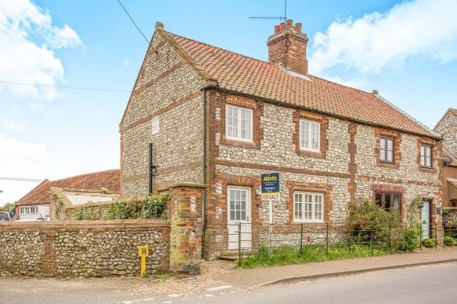 Thumbnail Semi-detached house for sale in Docking, King's Lynn, Norfolk