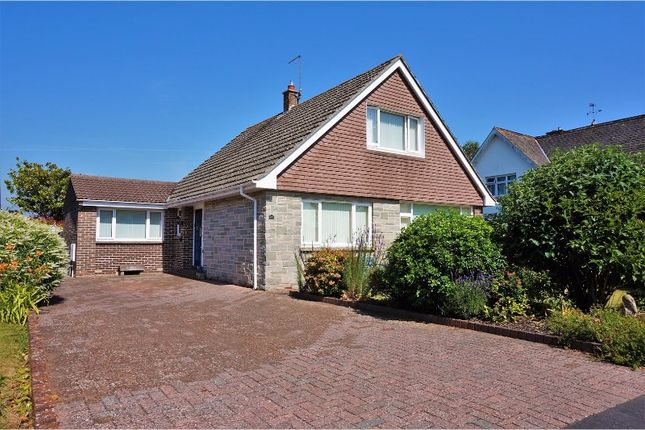 Thumbnail Detached bungalow for sale in Grove Hill, Topsham, Exeter
