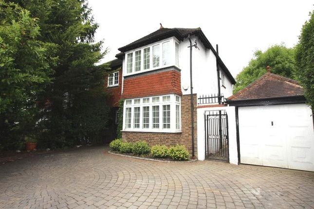 Thumbnail Semi-detached house for sale in Sandy Lane South, Wallington
