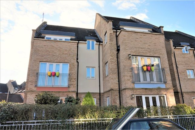 Thumbnail Flat for sale in Flawn Way, St. Neots