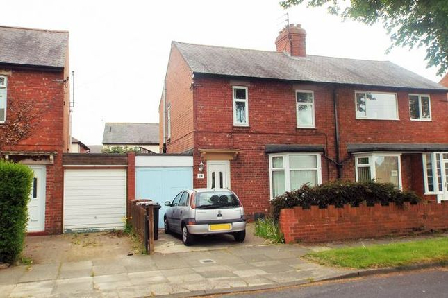 3 bed terraced house to rent in Thorneyburn Avenue, South Wellfield, Whitley Bay