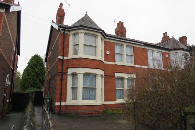 Thumbnail Semi-detached house for sale in Upton Road, Prenton