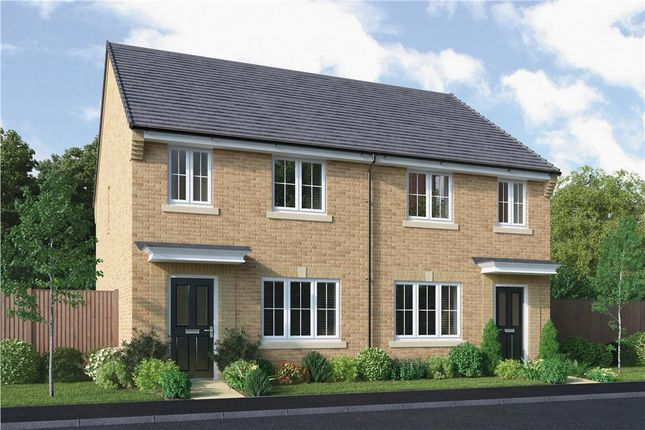 """Thumbnail Semi-detached house for sale in """"The Overton"""" at Buttercup Gardens, Blyth"""
