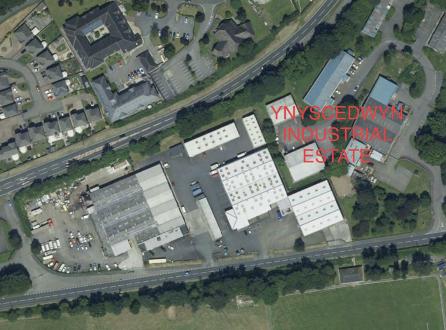 Light industrial to let in Ynyscedwyn Industrial Estate, Near Ystradgynlais, Swansea