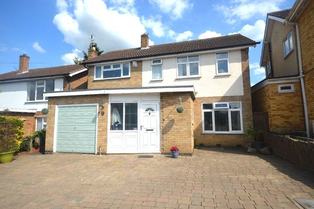 Thumbnail Detached house for sale in Rosemead Drive, Oadby, Leicester