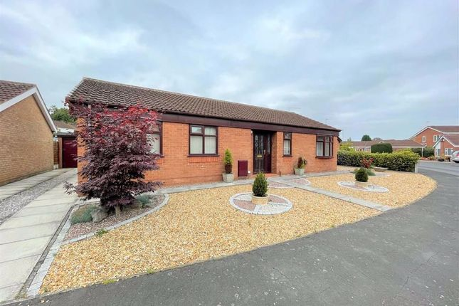 Thumbnail Detached bungalow for sale in Greenways, Leigh, Lancashire