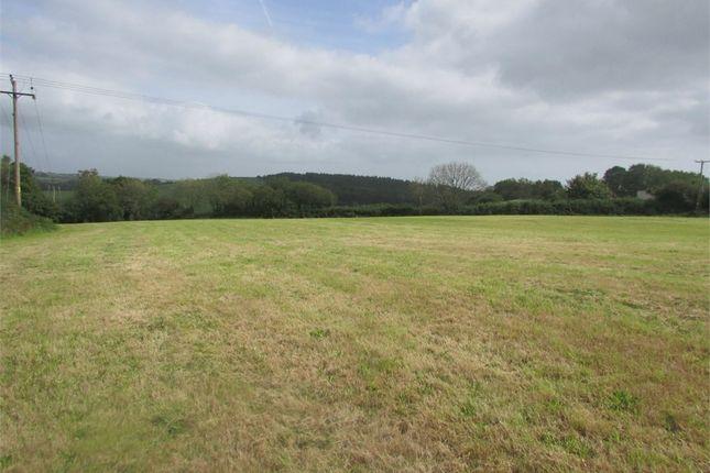 Thumbnail Land for sale in Llanteg, Narberth
