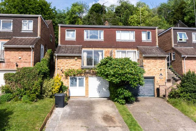 Thumbnail Semi-detached house for sale in Stewarts Way, Marlow