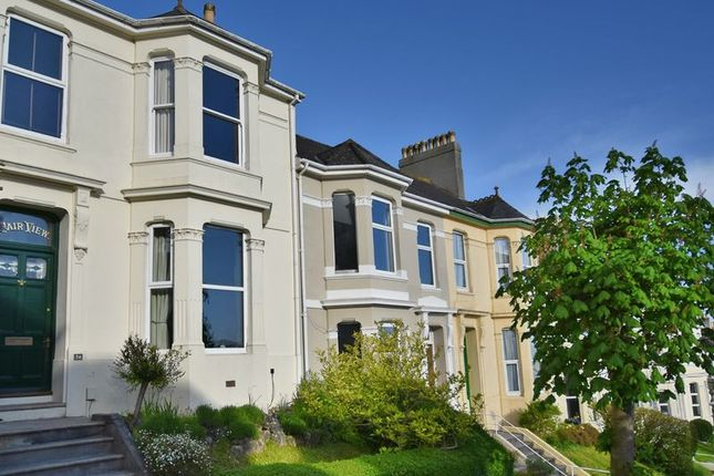 Front of Greenbank Avenue, Lipson, Plymouth PL4