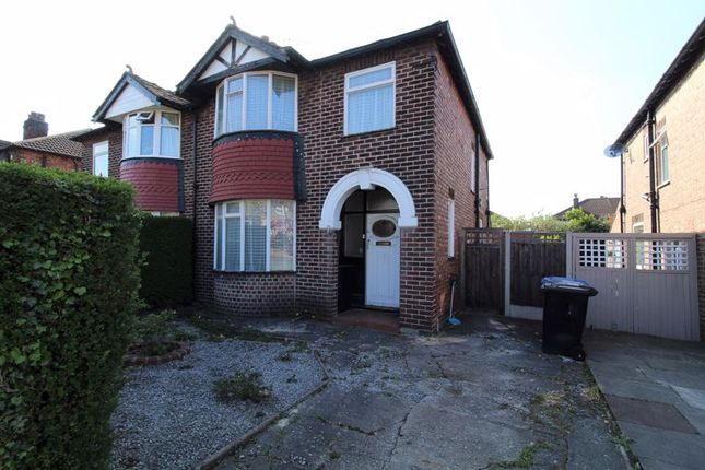 Thumbnail Semi-detached house for sale in Balmoral Drive, Timperley, Altrincham