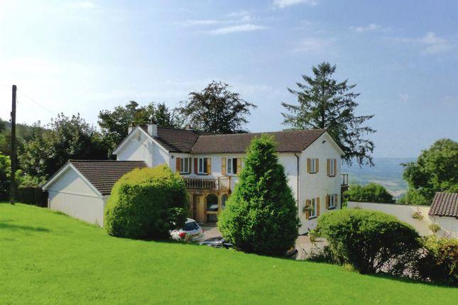 Thumbnail Detached house for sale in Laburnum, Pen Y Caer Mawr, Usk