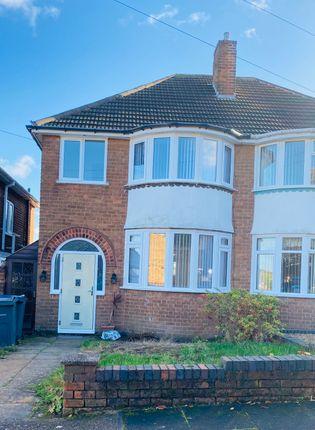 Thumbnail Semi-detached house to rent in Hillards Croft, Birmingham
