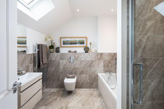 The Maple Showhome Bathroom